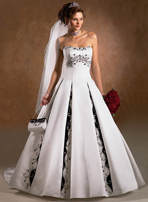 a08f26ca09ce0 إليك حواء فن أختيار فستان الزفاف