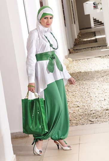 33f06d1dd تشكيلة رائعة من ملابس المحجبات التركية – استراحة حواء