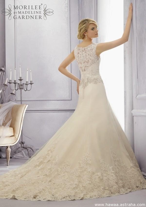 1b0f6a493 حصري فساتين زفاف فرنسية فخمة جدا 2015, wedding dresses – استراحة حواء