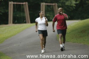 ممارسة الرياضة مع زوجك لعلاقة أفضل