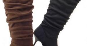 احذية باللون الاسود
